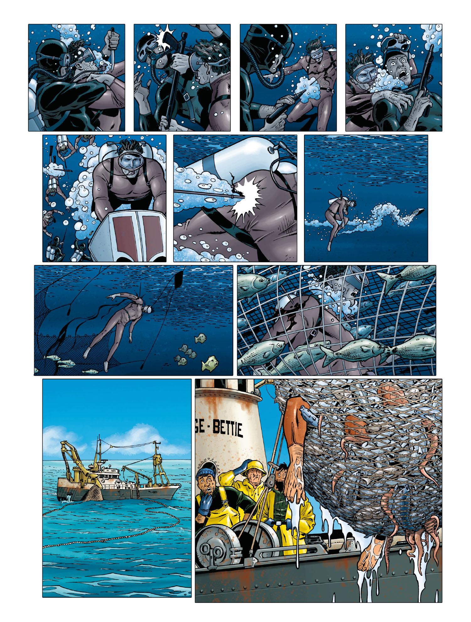 OSS 117, planche du tome 2 © Soleil / Cuneo / Gihef / Usagi