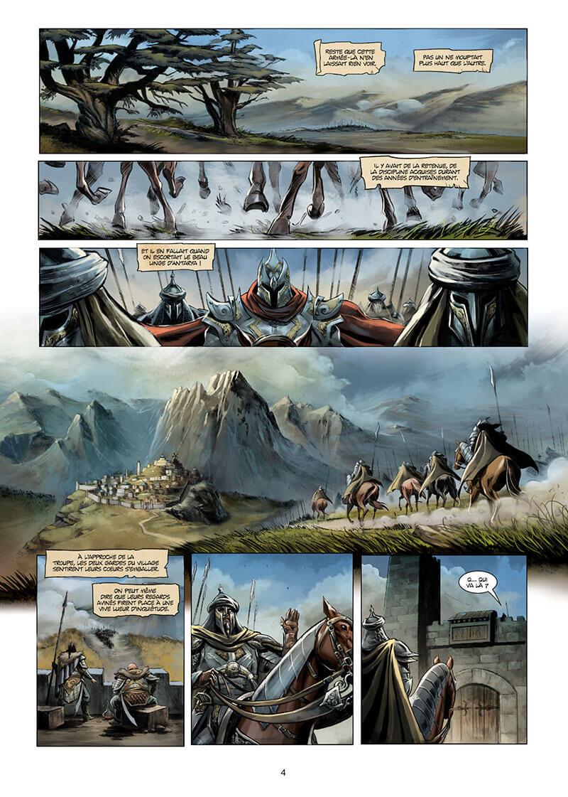 Orcs et Gobelins, planche du tome 10 © Soleil / Grenier / Istin / Nanjan