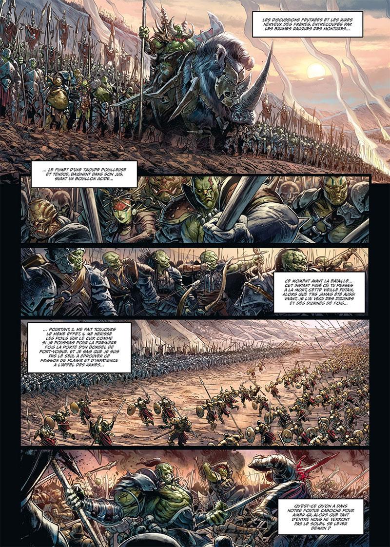 Orcs et Gobelins, tome 6 © Soleil /  Hervás Millán / Jarry / Nanjan