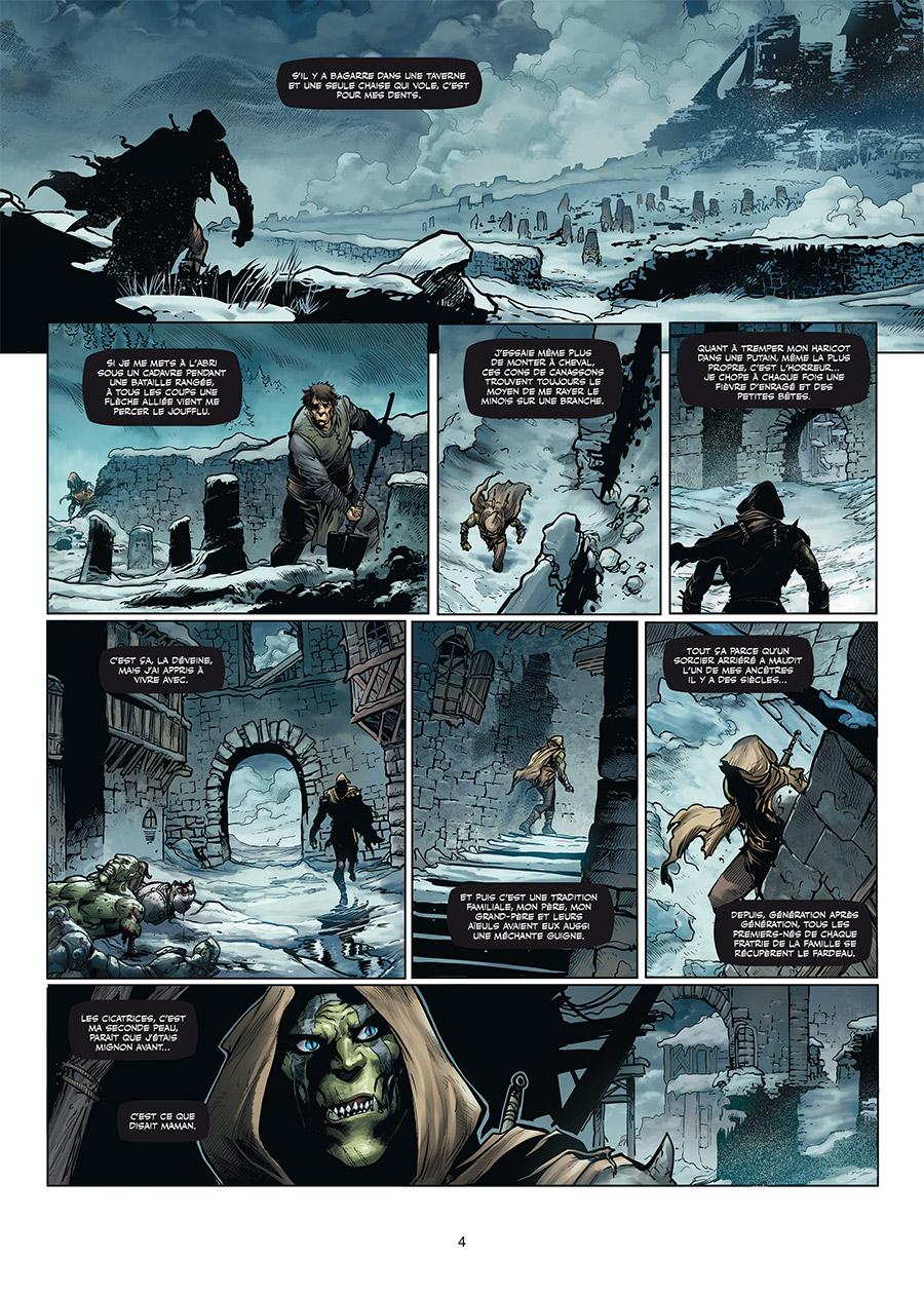 Orcs & Gobelins, planche du tome 5 © Soleil / Martino / Peru / Nanjan / Dellac