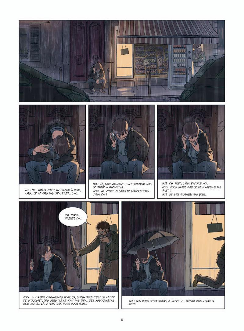 Où sont passés les grands jours ?, planche du tome 2 © Bamboo / Tefenkgi / Jim