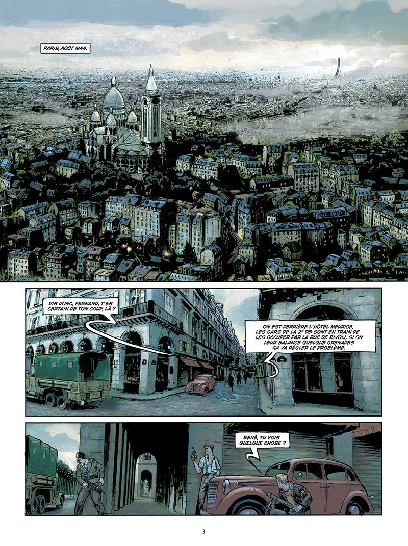 Paris Maléfices, planche du tome 3 © Delcourt / Dim D. / Pécau