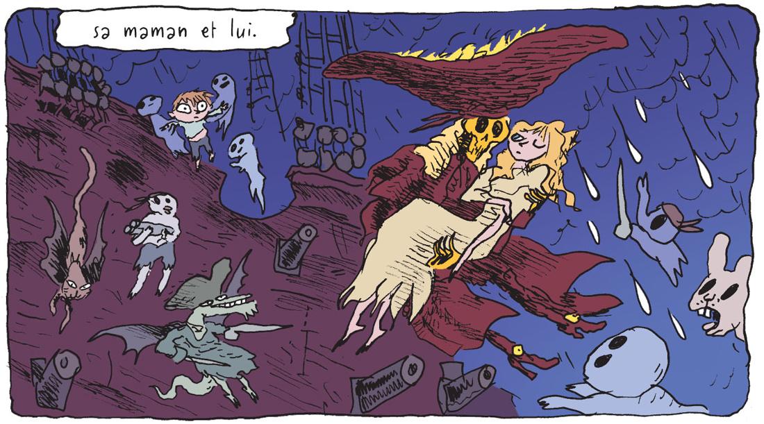Petit Vampire, planche du tome 1 © Rue de Sèvres / Sfar / Jardel / Findakly