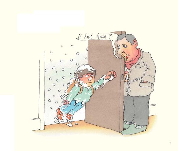 Questions Idiotes, planche de l'album © Ecole des Loisirs / Corentin