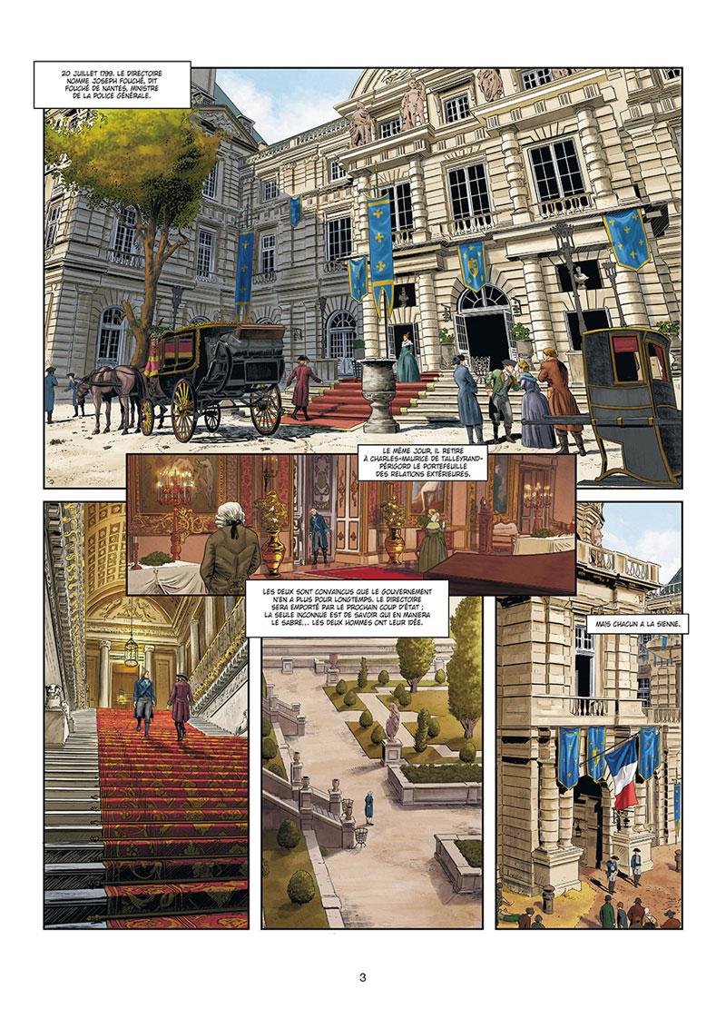 Révolutions - quand l'histoire de France a basculé, planche du tome 1 © Soleil / Marinetti / Pécau / Facio