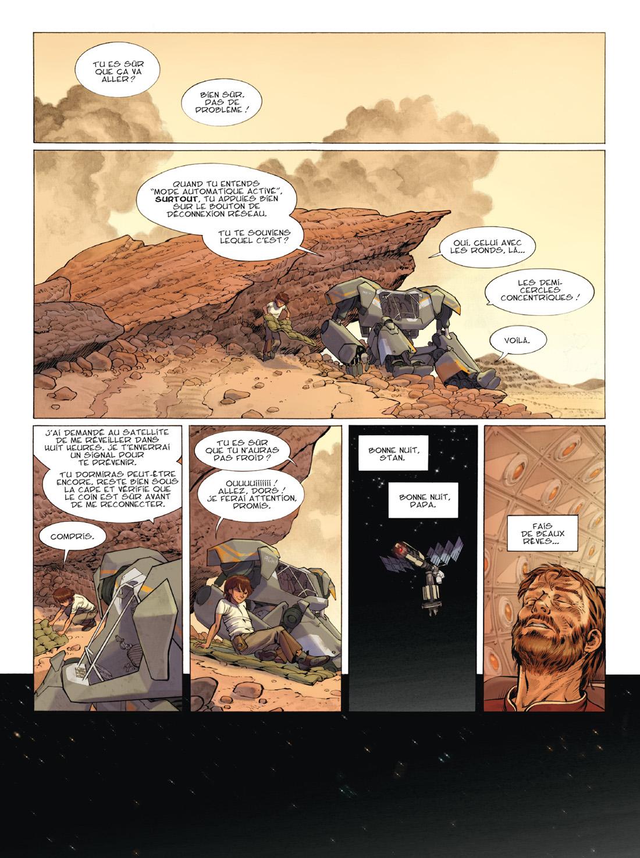 Rock & Stone, planche du tome 2 © Delcourt / Valéani / Jean / Georges