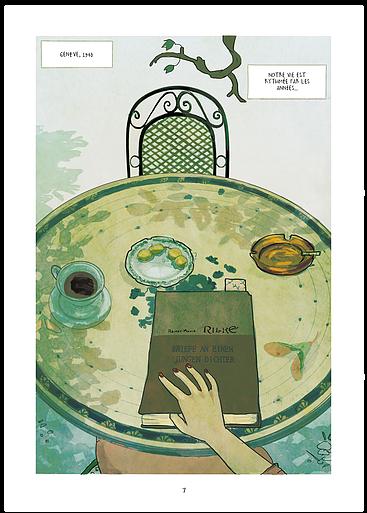 Salinger, avant l'Attrappe-Coeurs, planche de l'album © Steinkis / Rossetti / Grande