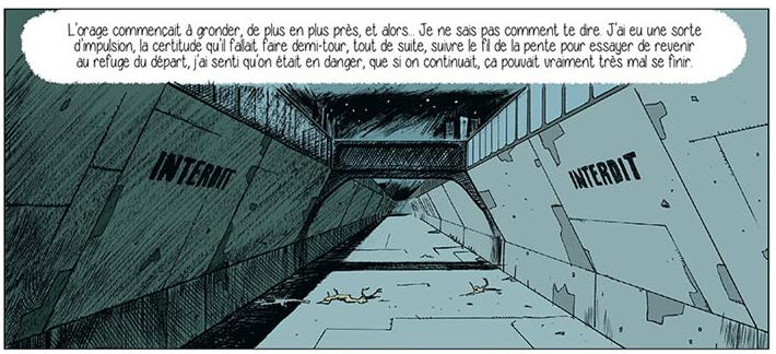 Sérum, planche de l'album © Delcourt / Gaignard / Pedrosa