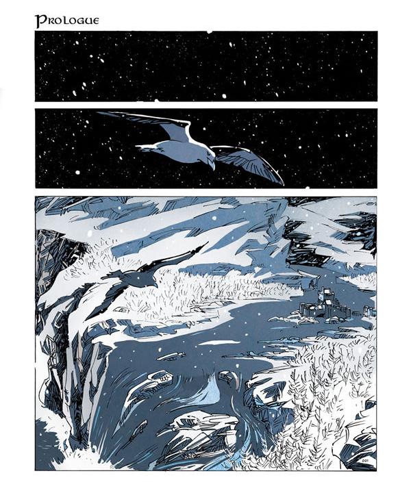 Snaergard, planche de l'album © Editions du Long Bec / Wagner