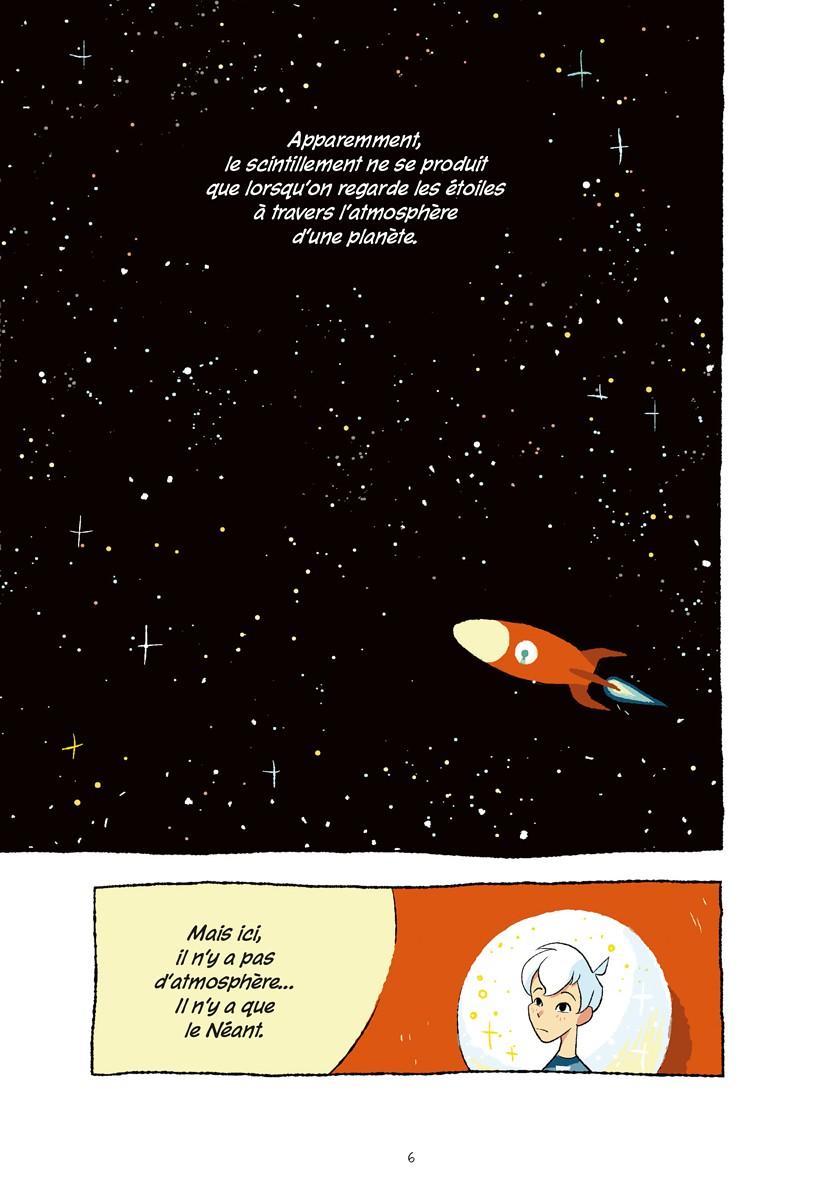 Space Boy, planche du tome 1 © Akileos / McCranie