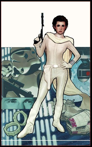 Star Wars - Icones, planche du tome 2 © Delcourt / Stradley / Fabbri / Chameleon