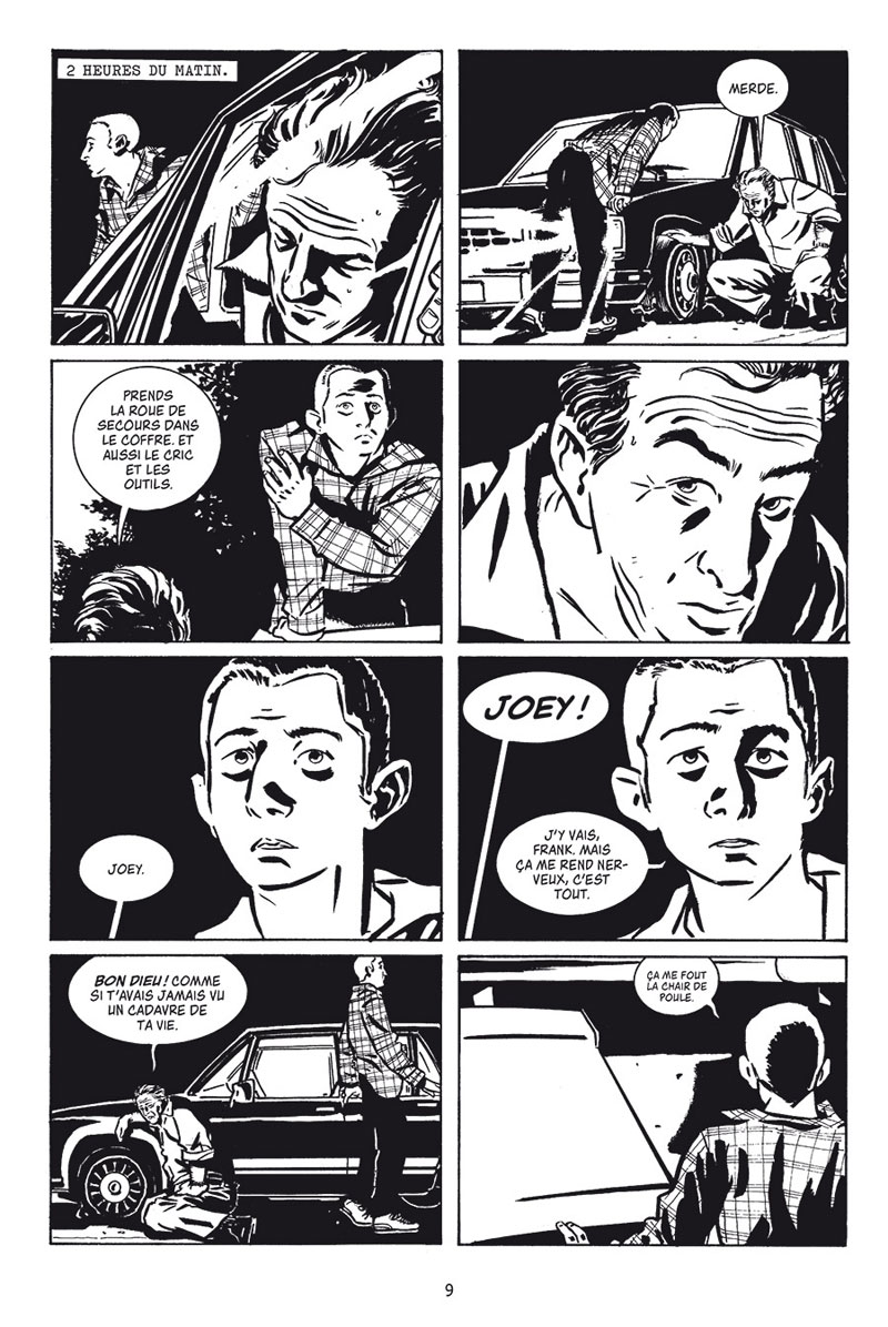 Stray Bullets, planche du tome 1 © Delcourt / Lapham