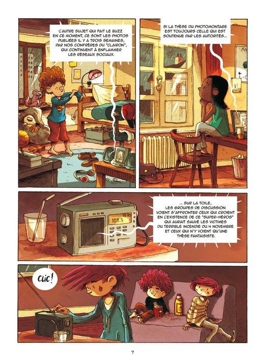SuperS, planche du tome 2 © Editions de la gouttiere / Dawid / Maupomé