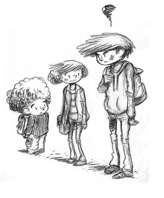 SuperS, illustration de la page de garde du tome 2 © Editions de la gouttiere / Dawid / Maupomé