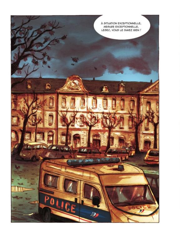 Supers, planche du tome 3 © Editions de la gouttiere / Dawid / Maupomé