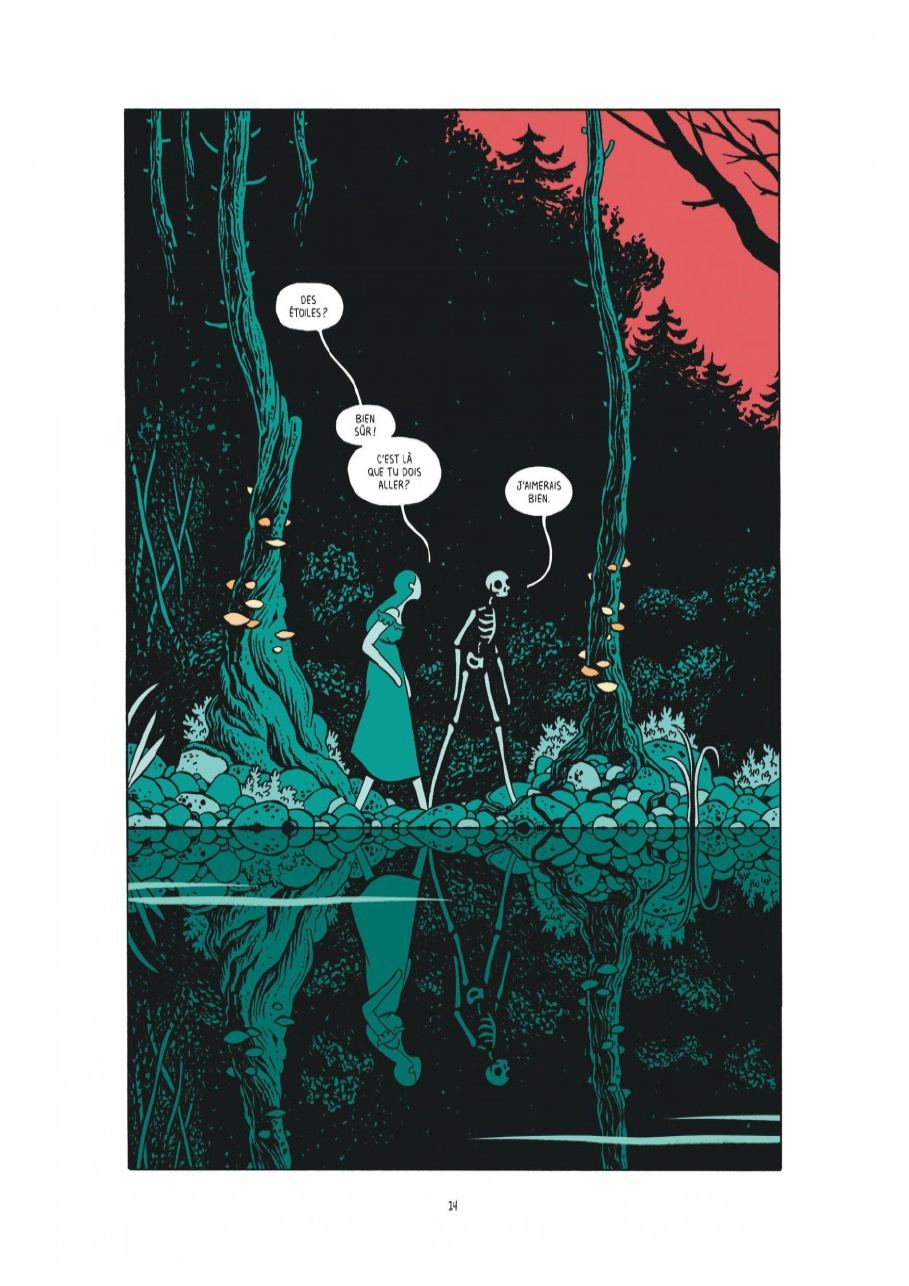 The Black Holes, planche de l'album © Dargaud /  Gonzalez