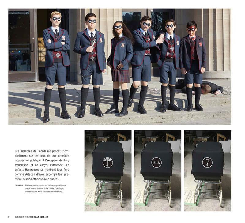 The Umbrella Academy, extrait © Delcourt