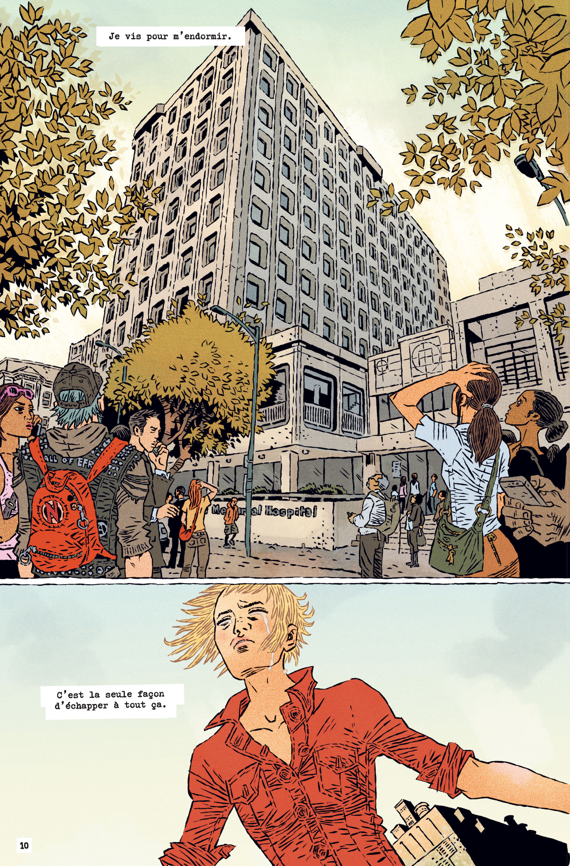 They're not like us, planche du tome 1 © Jungle / Gane / Stephenson / Bellaire