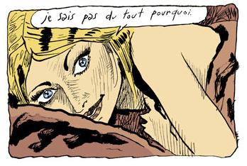 Tu n'as rien à craindre de moi, planche de l'album © Rue de Sevres / Sfar / Findakly