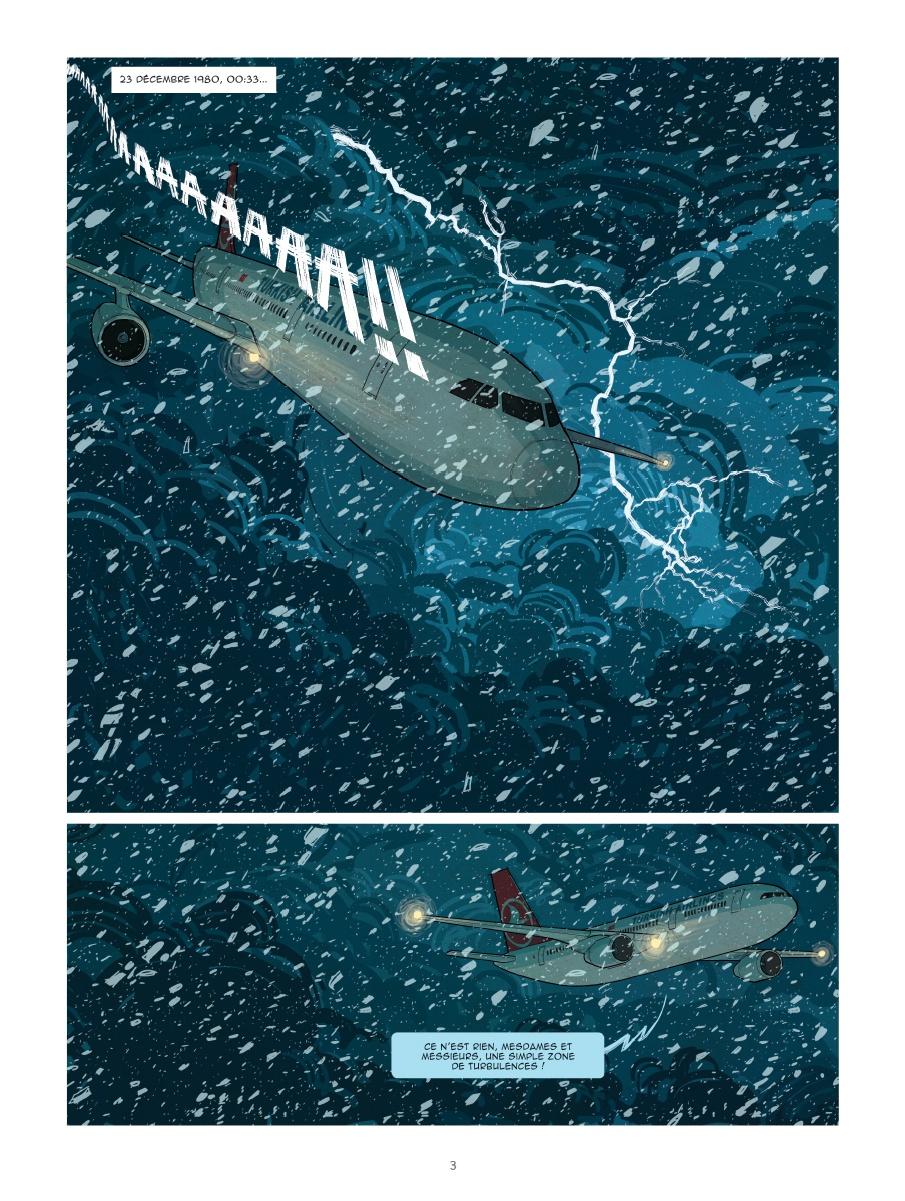un avion sans elle, planche de l'album © Glénat / Pinheiro / Duval / Bussi