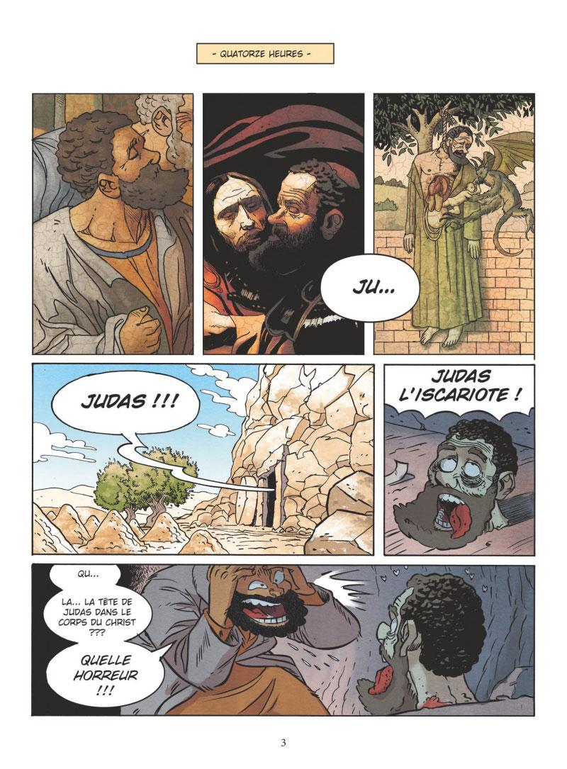 Un jour sans Jésus, planche du livre IV © Vents d'Ouest / Pacheco / Césano