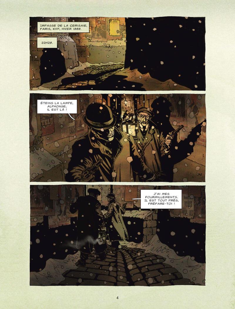 un récit des Contes de la Pieuvre, planche du tome 2 © Delcourt / Gess