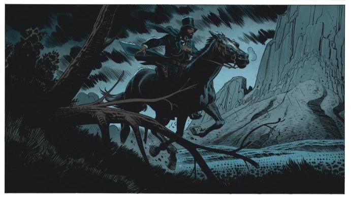 Undertaker, case du tome 3 © Dargaud / Meyer / Dorison / Delabie