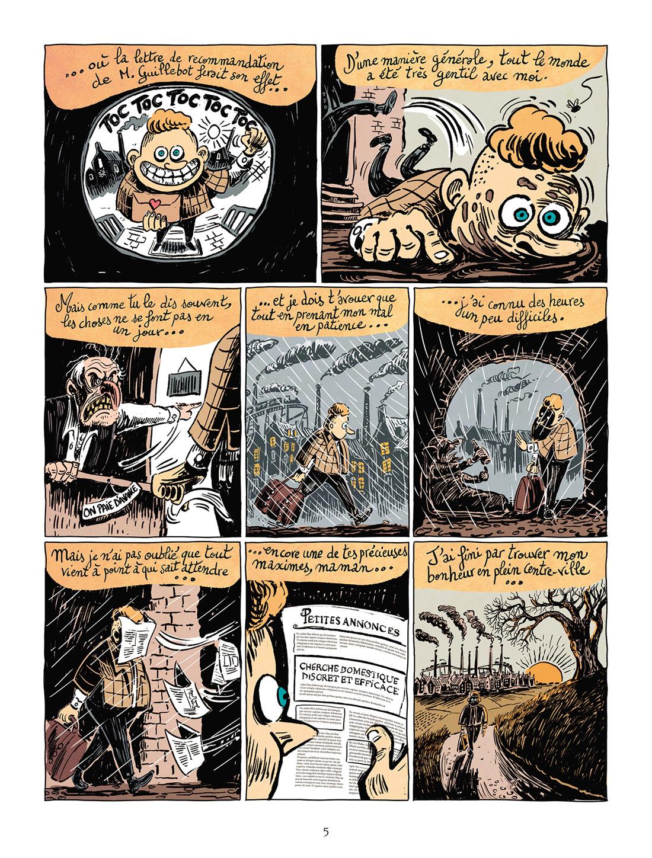 Une aventure de Mystère et Boule de Gomme, planche du tome 1 © Delcourt / Malma / Le Gouëfflec
