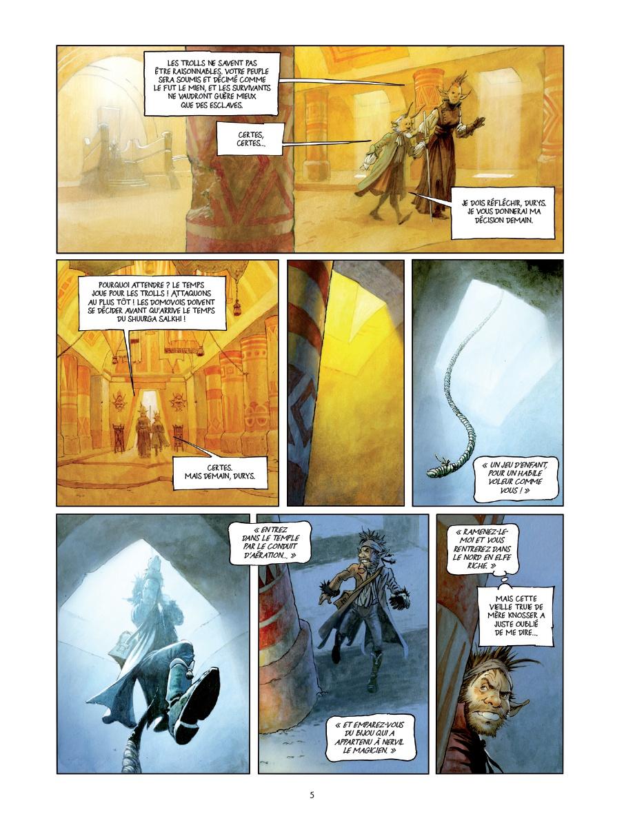 une histoire de Voleurs et de Trolls, planche du tome 1 © Drakoo / Broeders