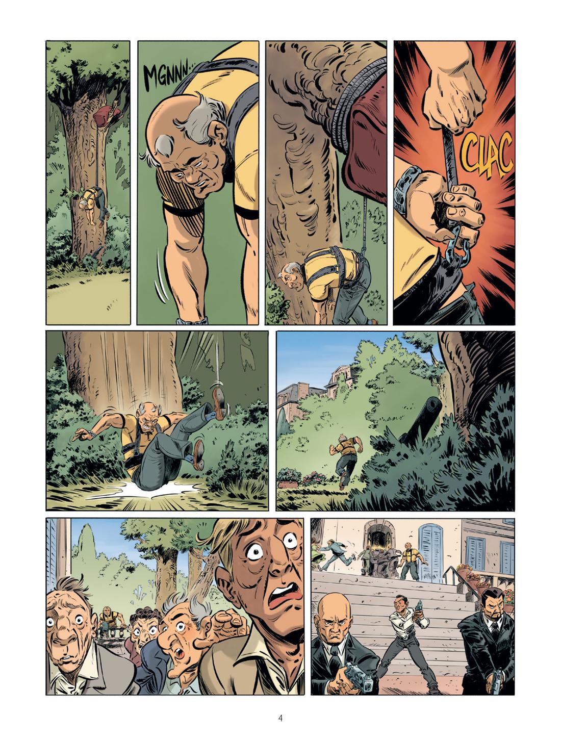Monsieur Vadim, planche du tome 2 © Bamboo / Tanco / Gihef / Cerise