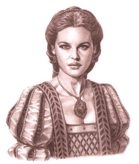 Valois, illustration du tome 1 © Delcourt / Calderón / Gloris / Felideus