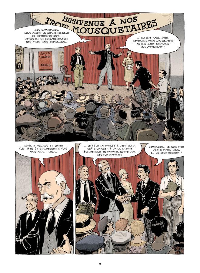 Viva l'anarchie ! , planche du tome 1 © La Boîte à Bulles / Loth / Loth