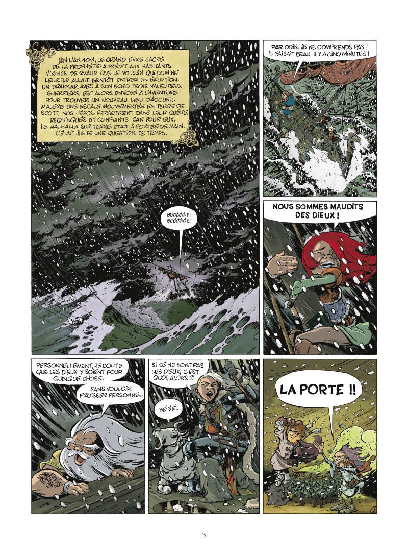 Walhalla, planche du tome 2 © Treize Etrange / Lechuga / Pothier / Pilet / Laupêtre