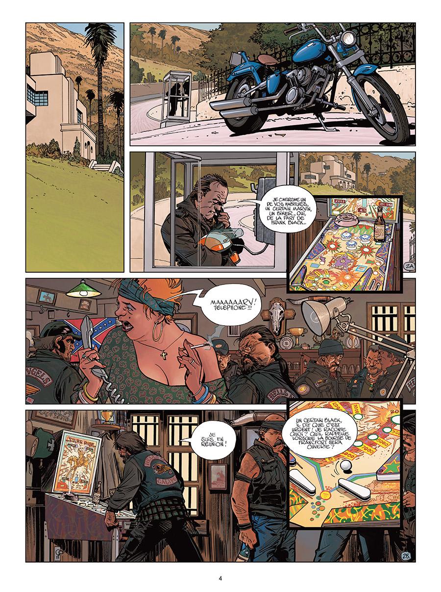 Wonderball, planche du tome 5 © Delcourt / Wilson / Duval / Pécau / Blanchard / Fernandez