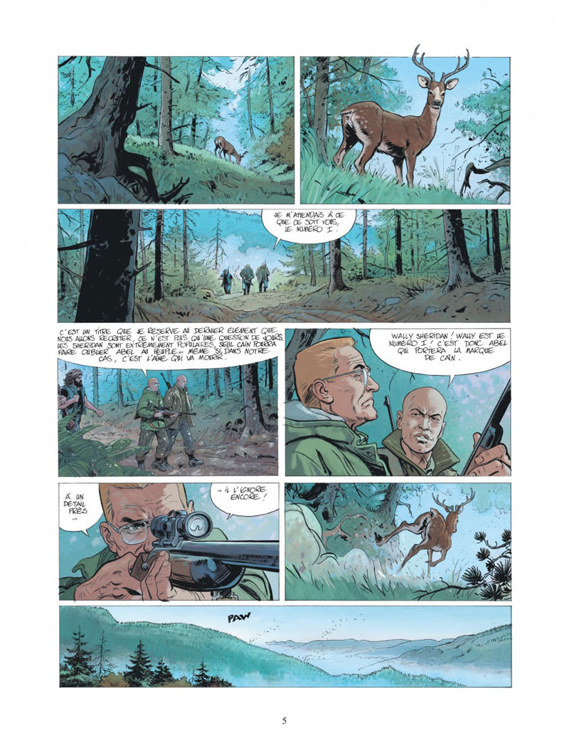 XIII Mystery, planche du tome 10 © Dargaud / Rouge / Duval / Boucq