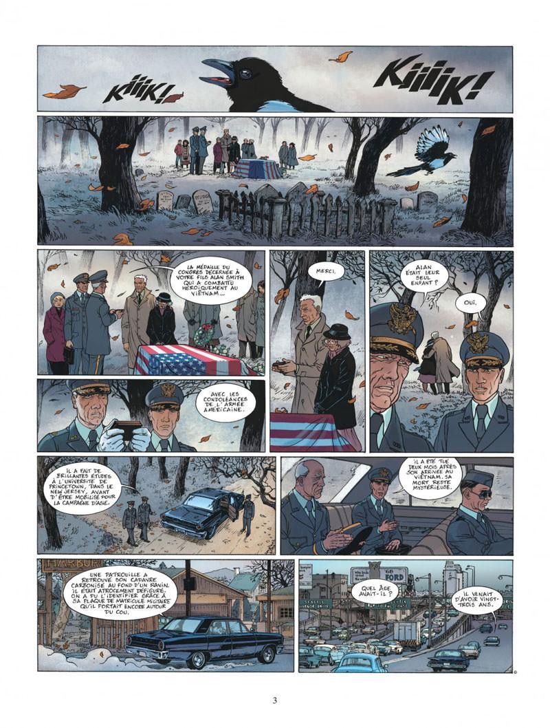 XIII Mystery, planche du tome 12 © Dargaud / Buchet / Pecqueur / Marquebreucq