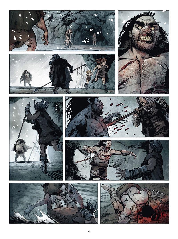 Zombies Néchronologies, planche de l'album © Soleil / Bervas / Peru / Digikore Studios