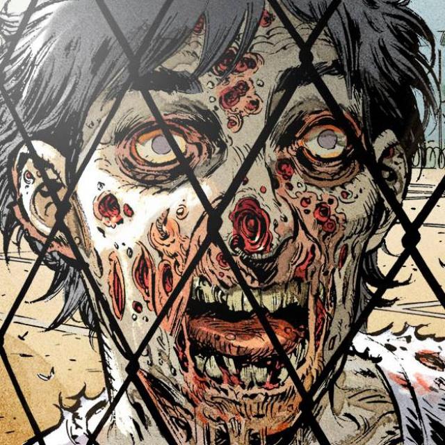 Zombies, case du tome 4 © Soleil / Cholet / Péru / Bastide