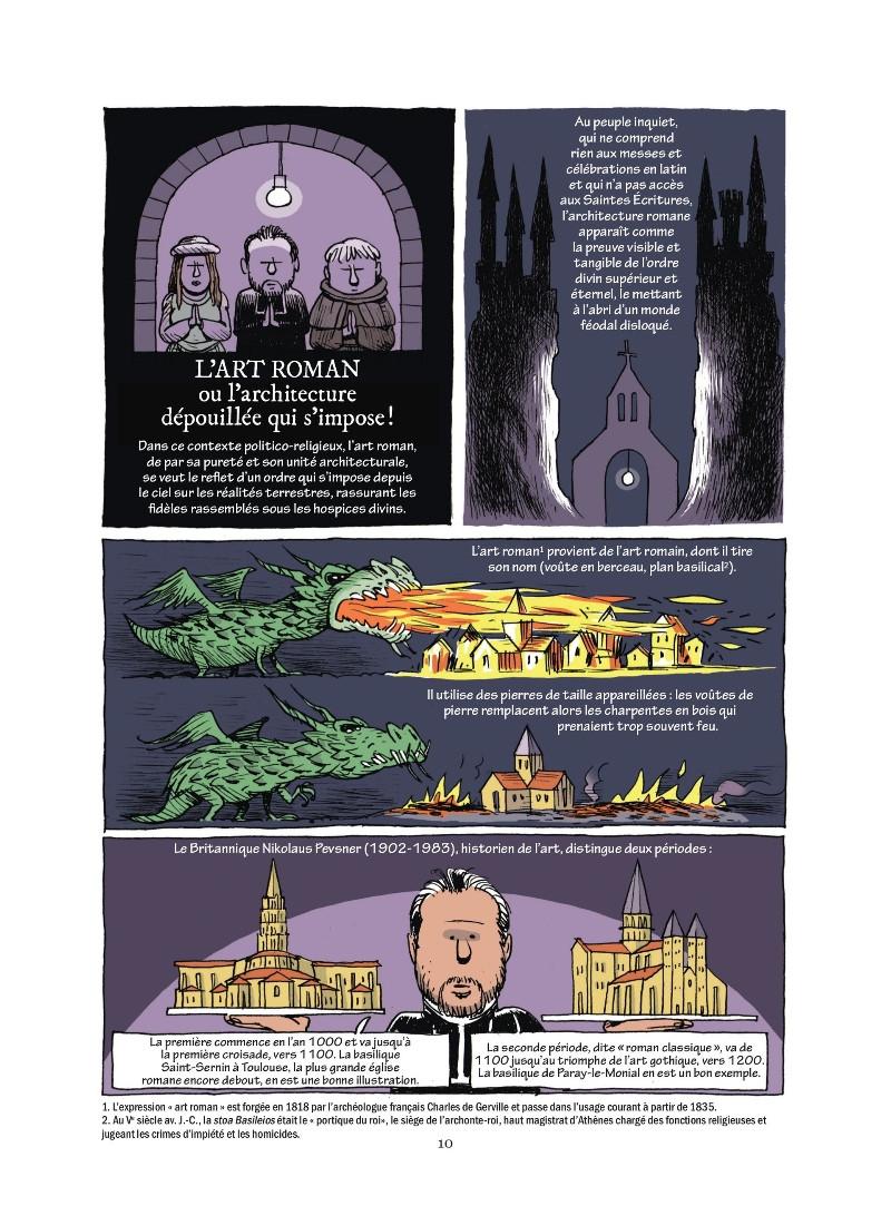 l'Empire : une histoire politique du christianisme, planche du tome 2 © Les Arènes / Magnat / Bobineau