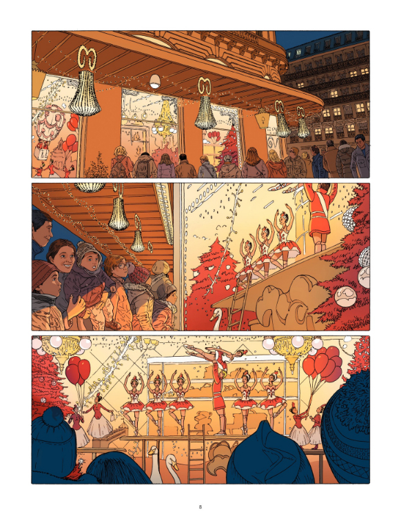 L'érection, planche du tome 1 © Bamboo Chabane / Jim