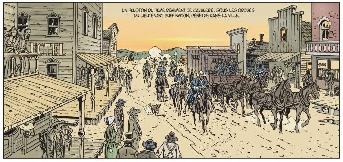 L'Or de Morrison, planche du tome 1 © Editions du Long Bec / Brecht / Seiter