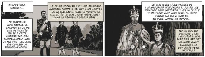 Le choix du Roi, planche du tome 1 © Glénat / Morinière / Bartoll