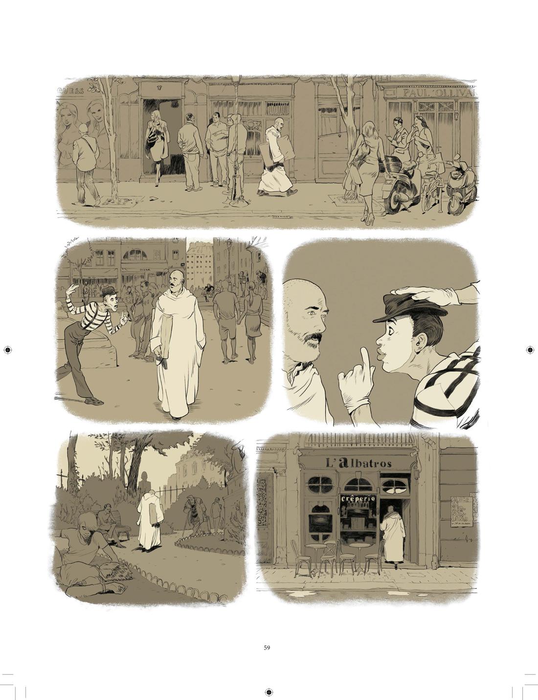 Un bruit étrange et beau, planche de l'album © Rue de Sèvres / Zep