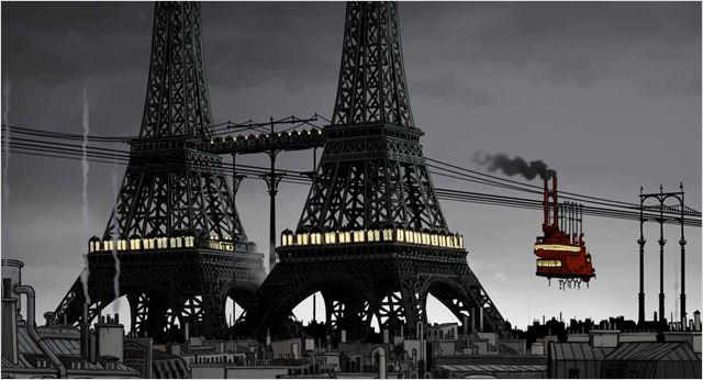 Avril et le monde truqué, image du film