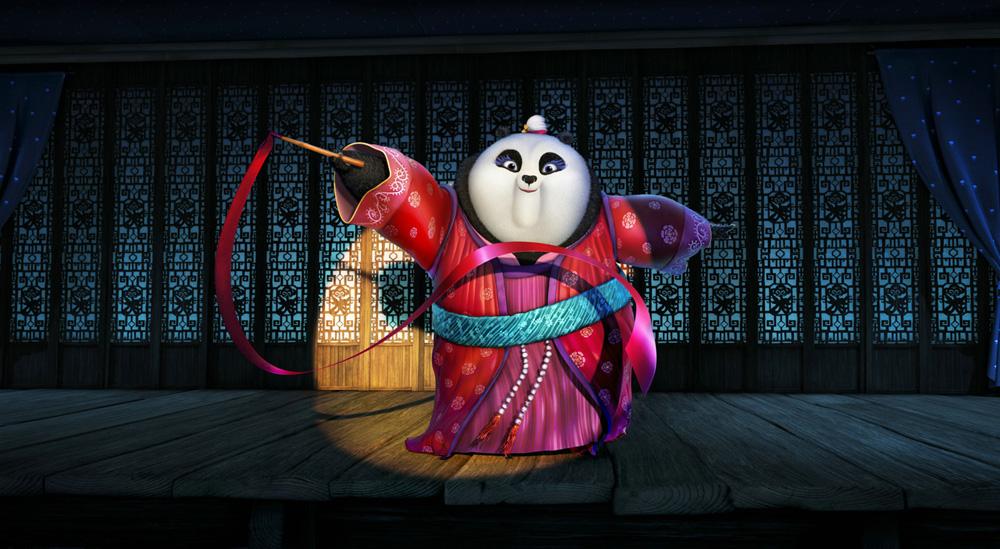 Kung Fu Panda, visuels du troisième volet