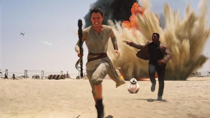 Star Wars VII - le Réveil de la Force, photo du film © Disney / Lucasfilm