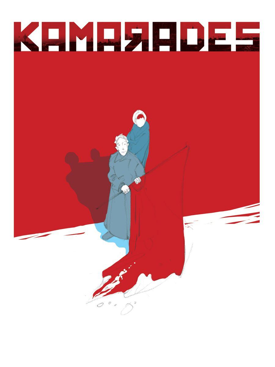 Kamarades, projet de couverture © Goust