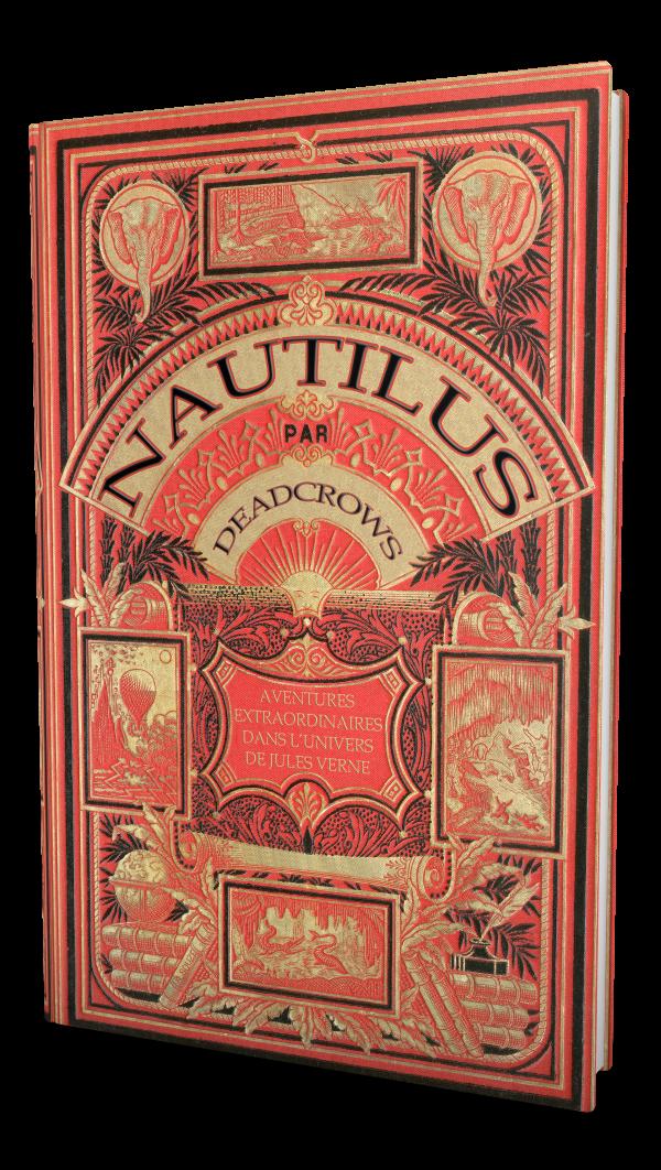 Nautilus, le livre de base, couverture Hetzel  © Dead Crows Studio