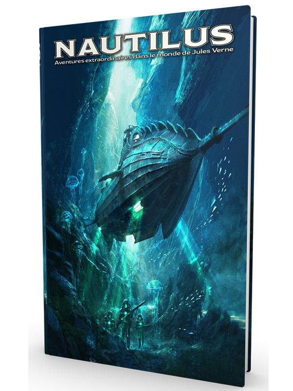 Nautilus, le livre de base, couverture signée par le talentueux Didier Graffet © Dead Crows Studio