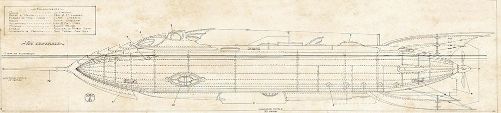 Nautilus, vue de coupe du Nautilus © Dead Crows Studio